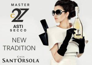 Рекламный постер Asti Secco Santorola