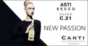 Рекламный постер Asti Secco Canti