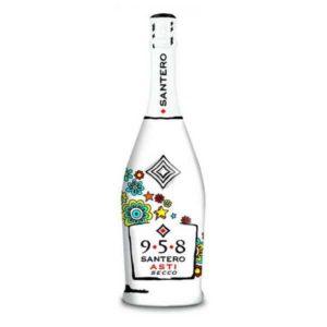 Купить Шампанское Асти Секко (Asti Secco) Santero 958 сухое цена Италия