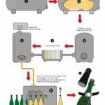 Технологические этапы метода Шарма, по которому производят Асти спуманте и Москате д'Асти
