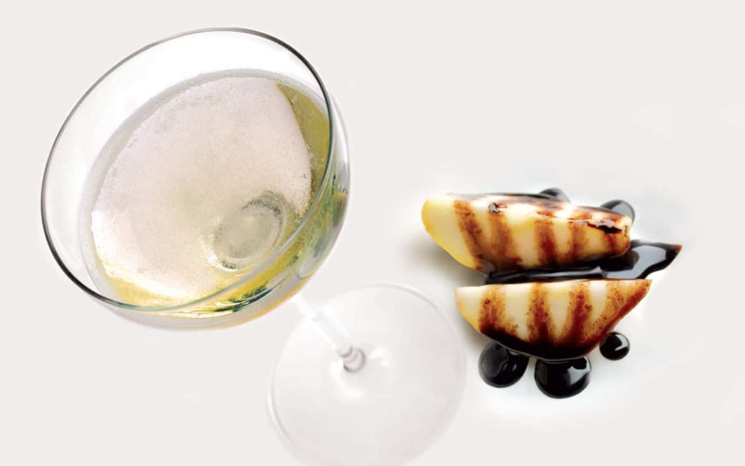 Груши в шампанском Asti DOCG (десерт)
