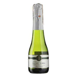 Купить Шампанское мини Cava Jaume Serra Brut Nature 200 мл цена