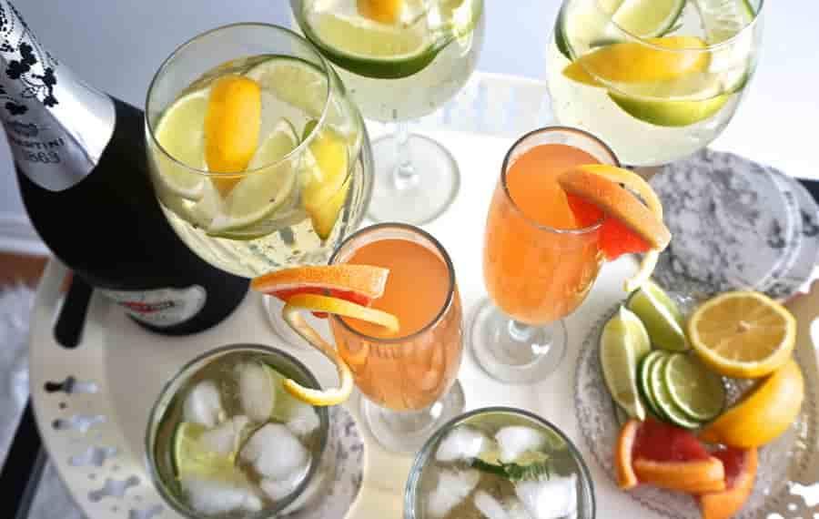 7 фантастически вкусных коктейлей с  шампанским Asti, которые обязаны появиться на новогоднем столе