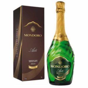 Купить Шампанское Asti Mondoro gift box / Асти Мондоро в подарочной упаковке Италия